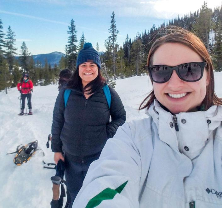 PE Group Snowshoeing Trip